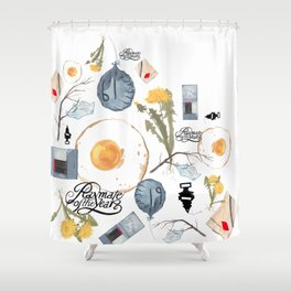 Gilded Palace Of Garbage Shower Curtain