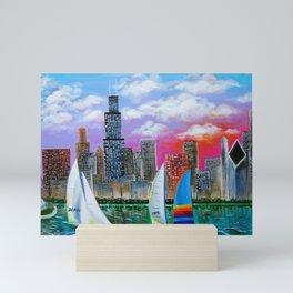 Magnificent Chicago Skyline Mini Art Print