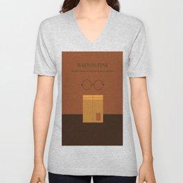 Barton Fink minimalist poster Unisex V-Neck