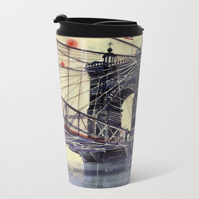 Cincinnati Metal Travel Mug