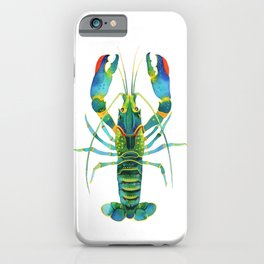 Red Claw Crayfish Lobster iPhone Case