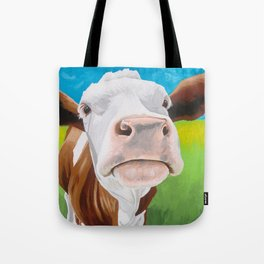 Gertrude the Gentle Cow Tote Bag