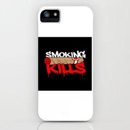 Anti Smoking Smoker iPhone Case