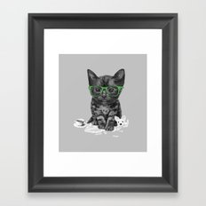 I Love Reading Framed Art Print