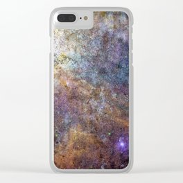 Galaxy Series: Number Four Clear iPhone Case