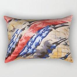 Tu vuò fà l'americano Rectangular Pillow