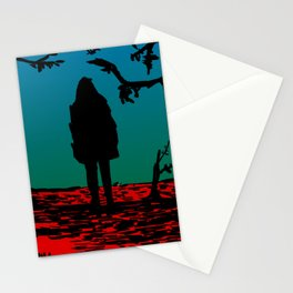 Black Riding Hood Stationery Cards