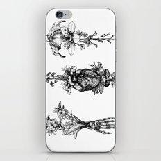 In Bloom - herbarium iPhone Skin