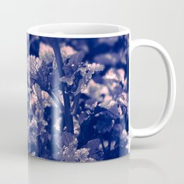 Soft Leaves in Blue/ Cheekwood Gardens Coffee Mug