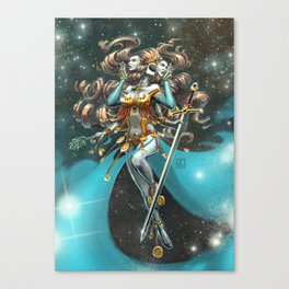 Janus, Goddess of War and Peace Canvas Print