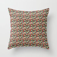 prism Throw Pillows featuring Prism by Kerry Lacy