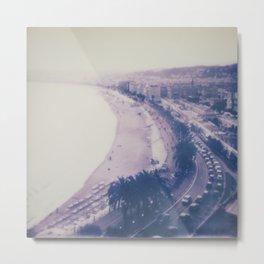 Promenade des Anglais Metal Print