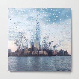 Citiescape Metal Print