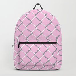 Chain Link on Blush Backpack