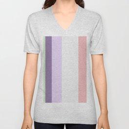 Tana Bush Stripes Unisex V-Neck