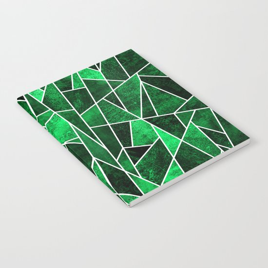 Shattered Emerald Notebook
