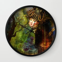 The octopus and Lady M Wall Clock