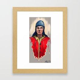 Yard Worker: Royal Navy. Framed Art Print