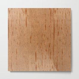 Cedar Spanish Wood Metal Print