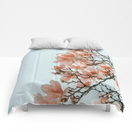 Pink Spring #4 Comforters