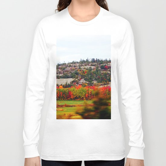 Trees and the Rock Long Sleeve T-shirt