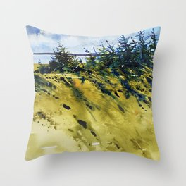 Vent de mer Throw Pillow