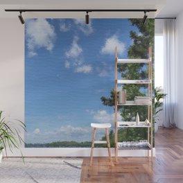 Spring Blue Sky Wall Mural