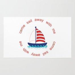 Come Sail Away With Me Rug