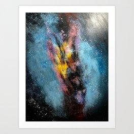 Centaurus A Galaxy Art Print