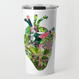 Botanical Heart Mint Travel Mug