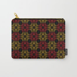 Golden Red Carry-All Pouch