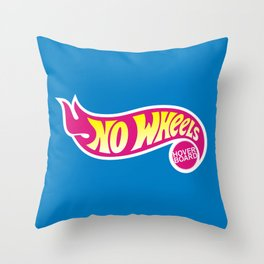 No Wheels Throw Pillow