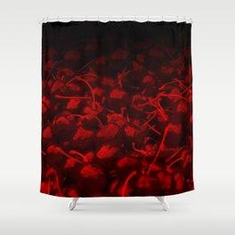 cherries pattern hvhddr Shower Curtain