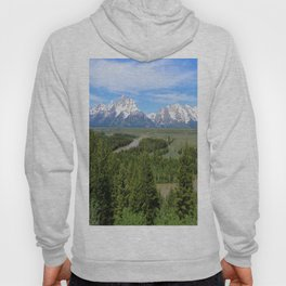 Snake River And The Grand Tetons Hoody