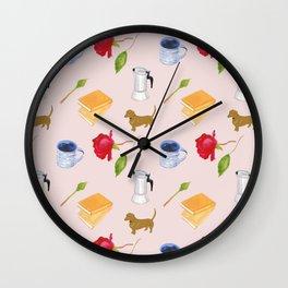 Sunday Feels Wall Clock