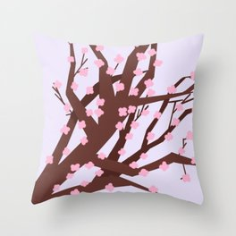 CHHERRY BLOSSOM / DREAMS Throw Pillow