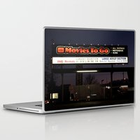 movies Laptop & iPad Skins featuring Movies over here by Vorona Photography