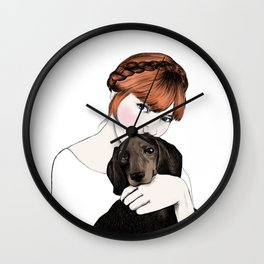 Emily and Arthur Miller Wall Clock