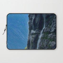 Misty Waterfall Laptop Sleeve