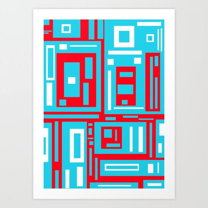 """""""Road Blocks in Life"""" Art Print"""