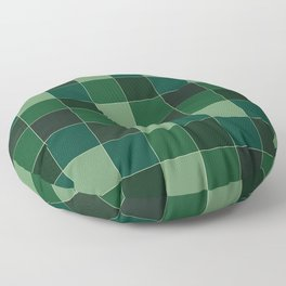 Checker Verde III Floor Pillow