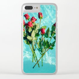 summer romance #society6 #decor #buyart Clear iPhone Case