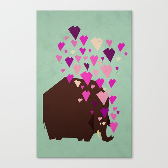 last mammoth Canvas Print