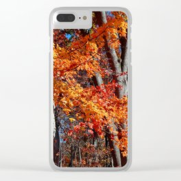 Fall's Ballad Clear iPhone Case
