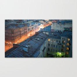 St Petersburg Rooftops Canvas Print