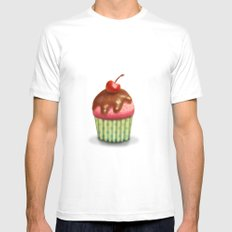 Muffin Mens Fitted Tee White MEDIUM