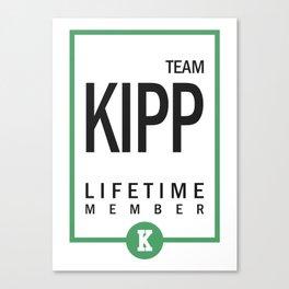 Team Kipp Gift Canvas Print