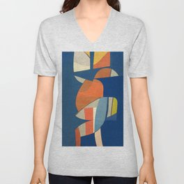 Carrying Two Cans Unisex V-Neck