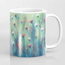 Dancing Field of Flowers Coffee Mug