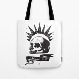 Misfit Skull Tote Bag